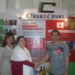 Launching Franchise CheapNClean 2008 @Gramedia Expo-SBY